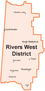 map of rivers west